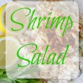 Shrimp Salad - The 2 Seasons