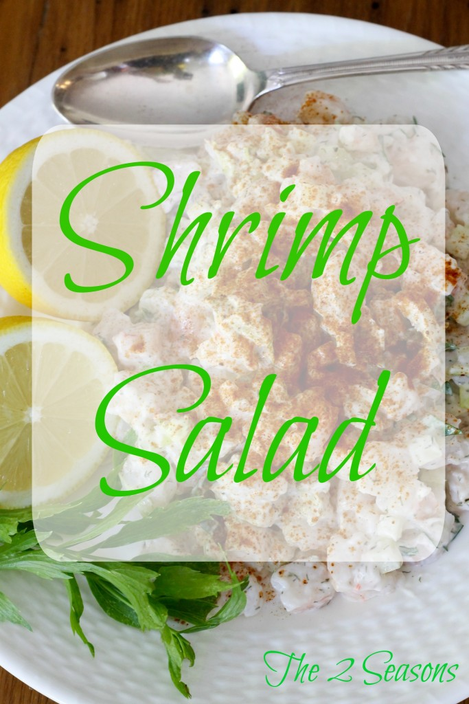 Shrimp Salad 683x1024 - Meatless Meals for Lenten Fridays