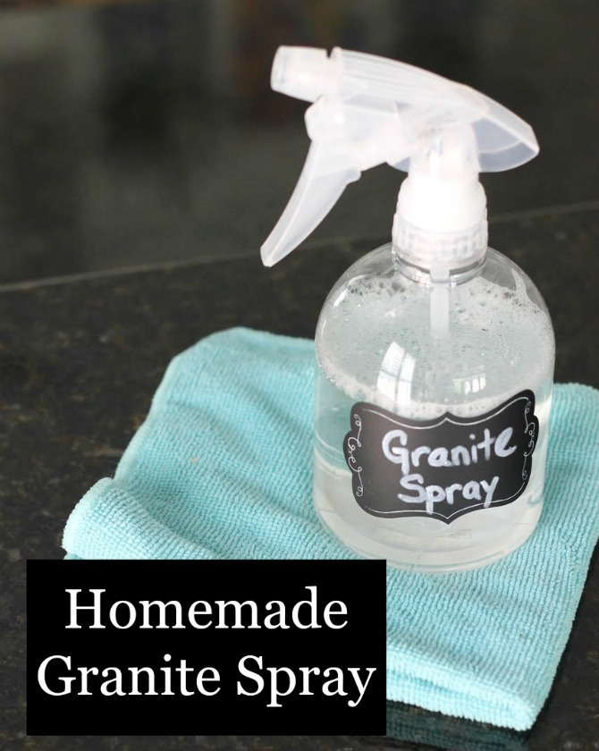 Homemade Granite Spray