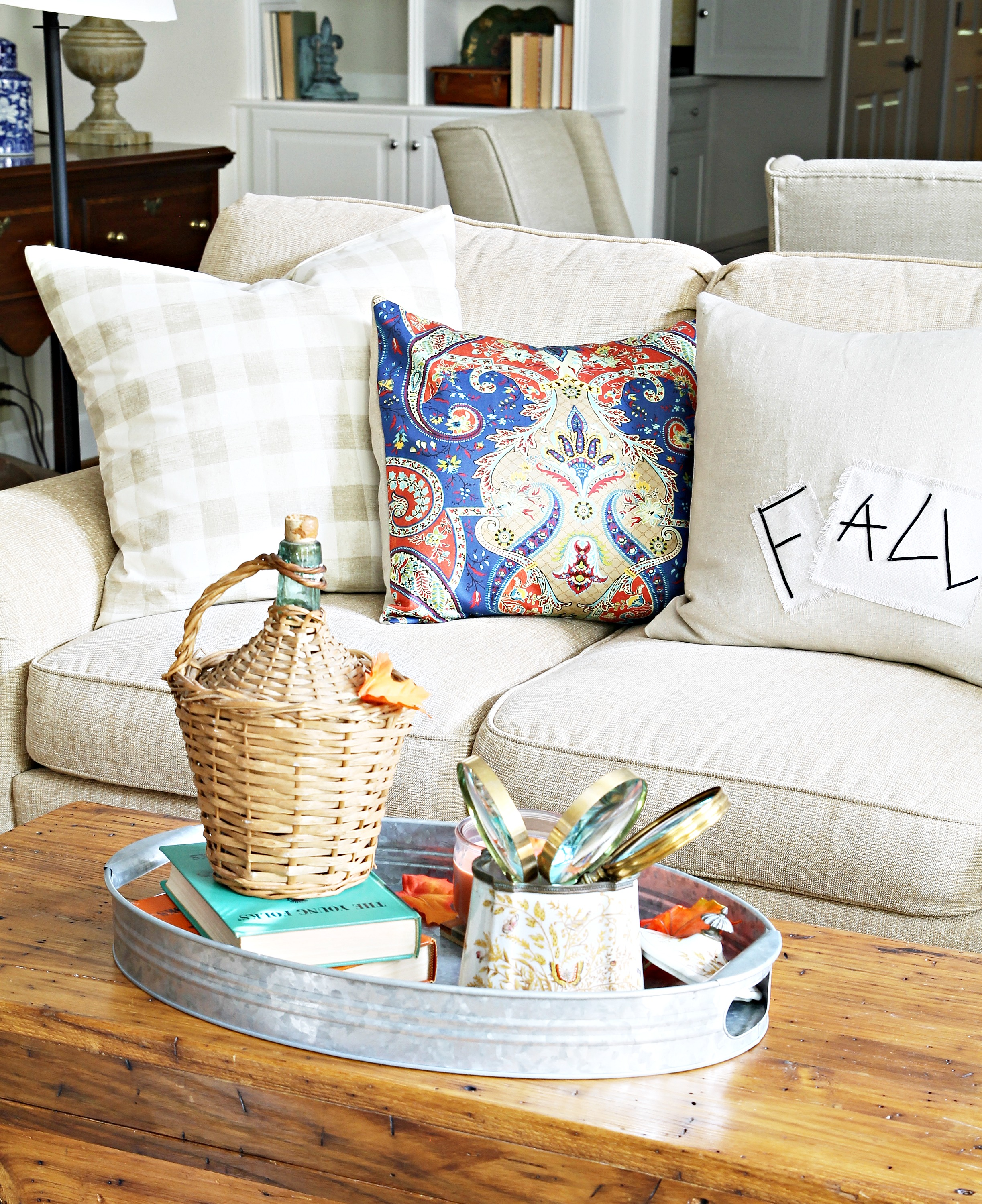 autumn set corded chenille pillows jacquard shipping orders on home free stripes rectangular over overstock product needles throw of garden pillow blazing