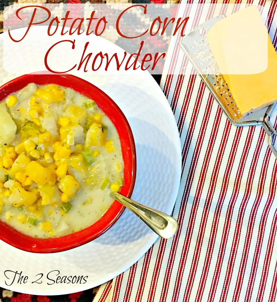 Potato corn chowder 938x1024 - Potato Corn Chowder