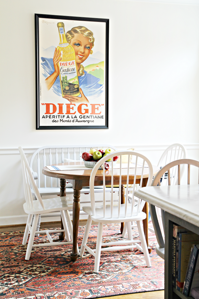 Vintage poster in the kitchen - The 2 Seasons