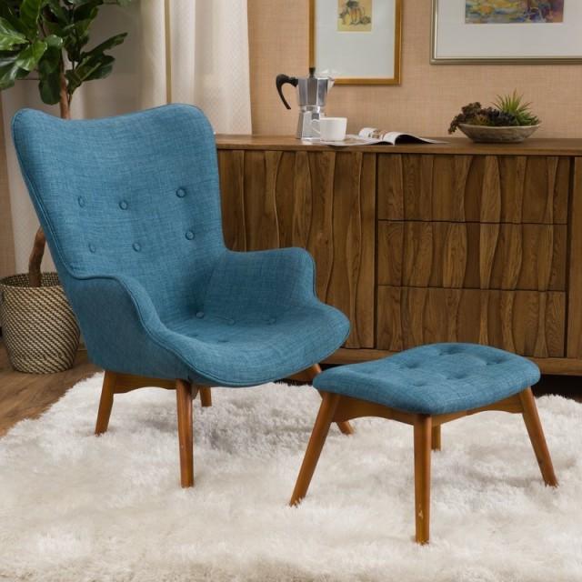 Canyon Vista Mid Century Wingback Chair Set e1507142524304 - New Mid-Century Chair
