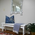 Hallway bench and mirror - The 2 Seasons