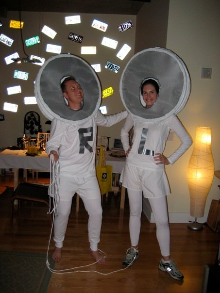 I pod Ear Buds Costume