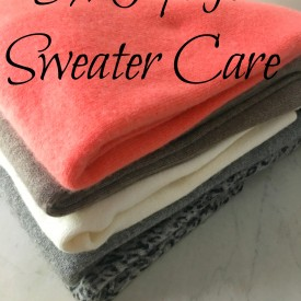 Sweater Care Tips