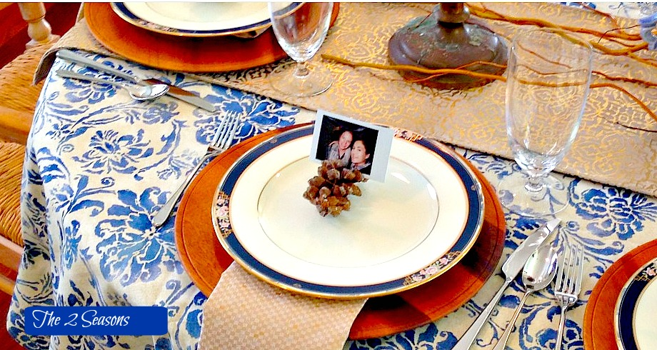 Thanksgiving Table 2 - Tips for a Stress Free Thanksgiving