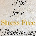 Tips for a Stress Free Thanksgiving - The 2 Seasons