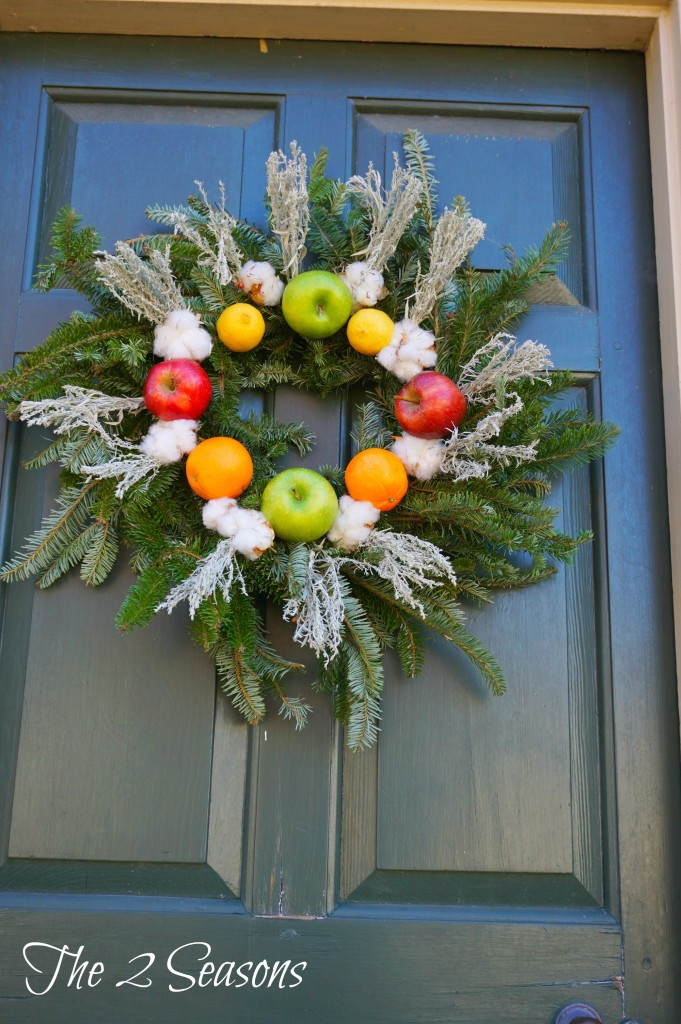 Wreath 13 681x1024 - The Christmas Wreaths at Colonial Williamsburg