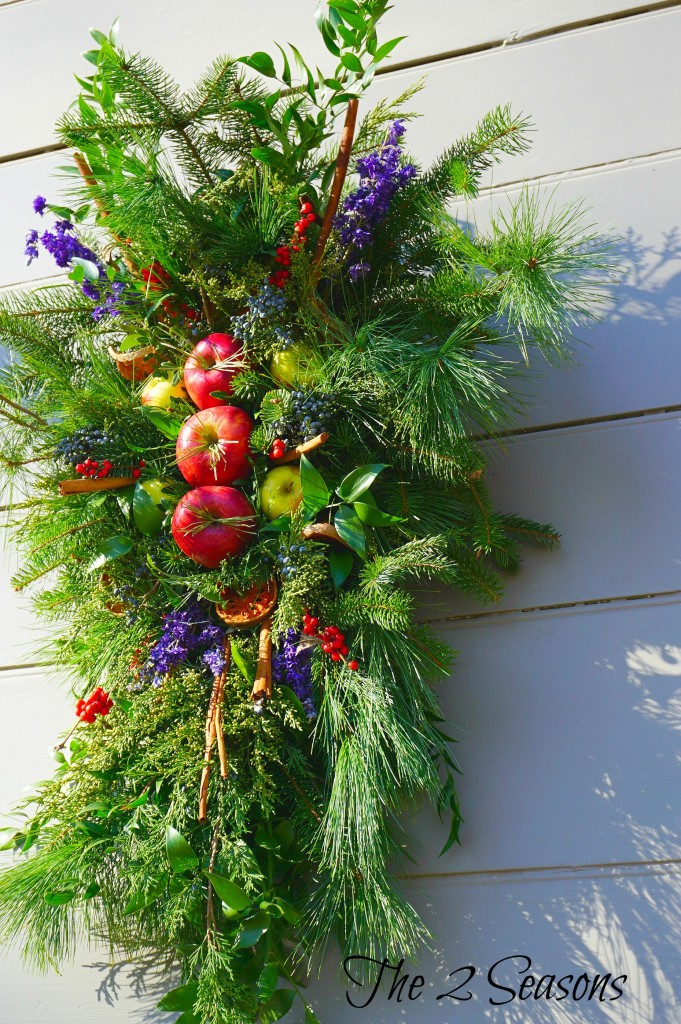Wreaths 1 681x1024 - The Christmas Wreaths at Colonial Williamsburg