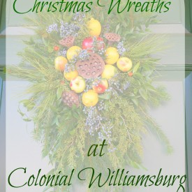 Wreaths 16 275x275 - The Christmas Wreaths at Colonial Williamsburg