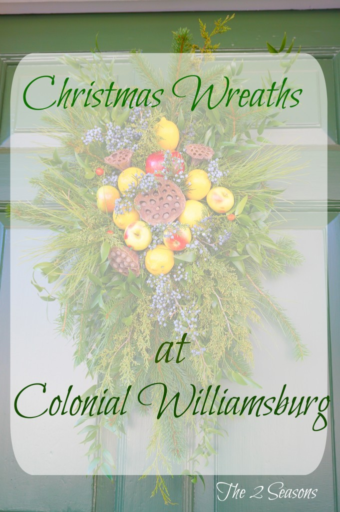Wreaths 16 681x1024 - The Christmas Wreaths at Colonial Williamsburg