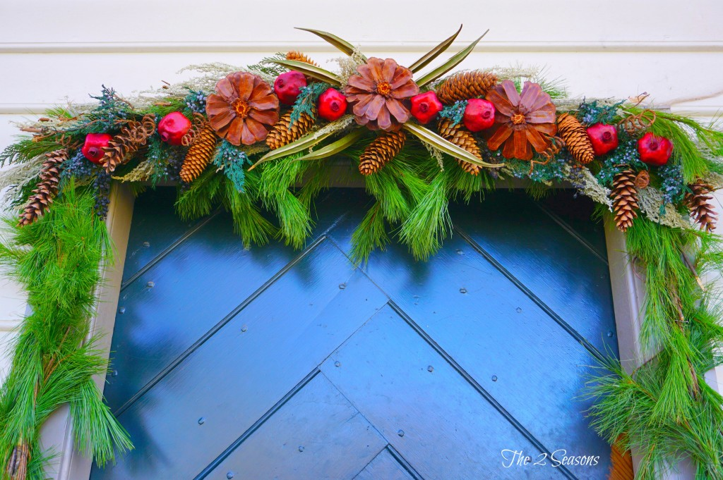 Wreaths 3 1024x681 - The Christmas Wreaths at Colonial Williamsburg