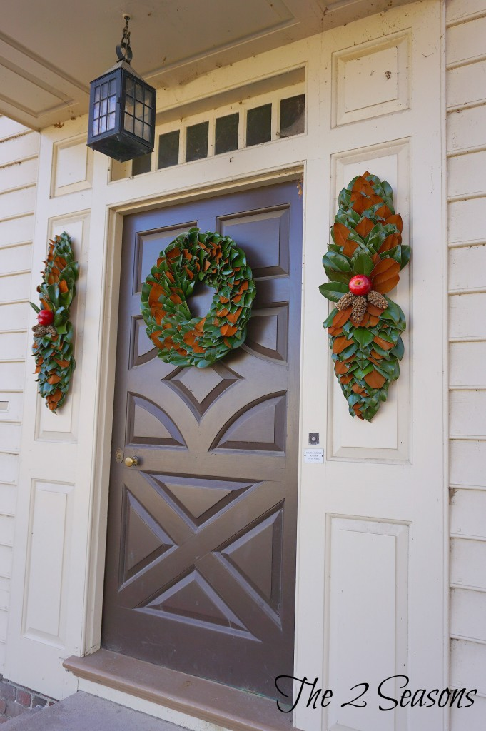 Wreaths 6 681x1024 - The Christmas Wreaths at Colonial Williamsburg