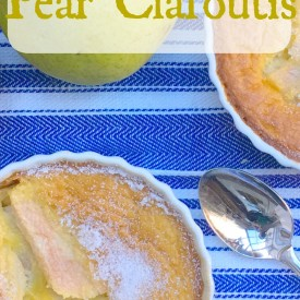 Individual Pear Clafoutis - The 2 Seasons