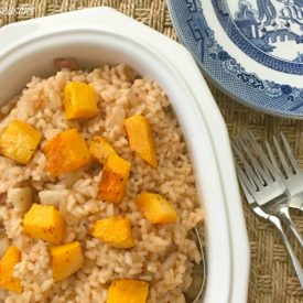 Butternut Squash risotto - The 2 Seasons