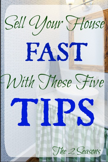 Five House Selling Tips - The 2 Seasons