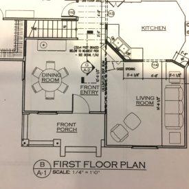 Fixer Upper floor plan - The 2 Seasons