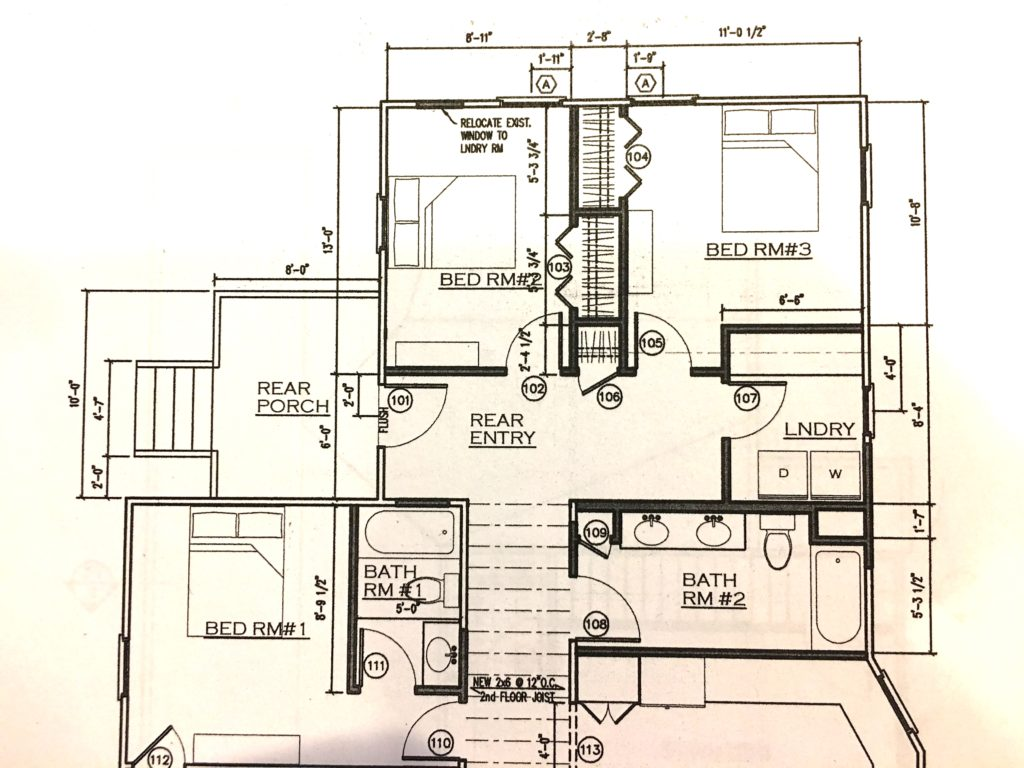 Fixer upper floor plan - The 2 Seasons