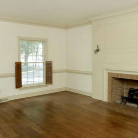 Townhouse before living room