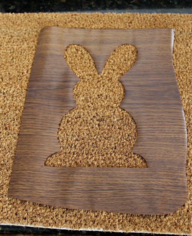 Rug 2 - DIY Easter Door Mat
