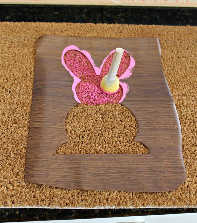 Rug 3 - DIY Easter Door Mat