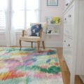 New rug in Little Miss's room - The 2 Seasons