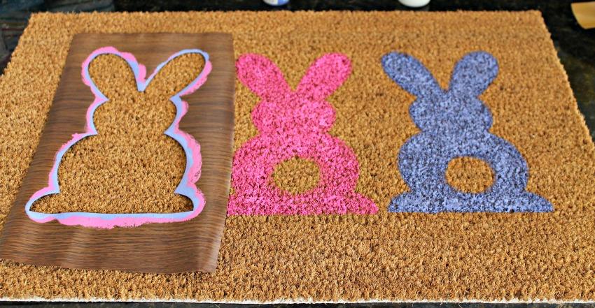 Rug 4 - DIY Easter Door Mat