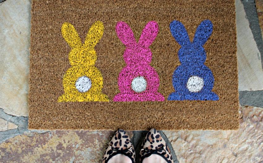 Rug Blank - DIY Easter Door Mat