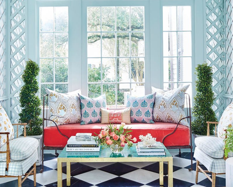 Screen shot from Southern Living