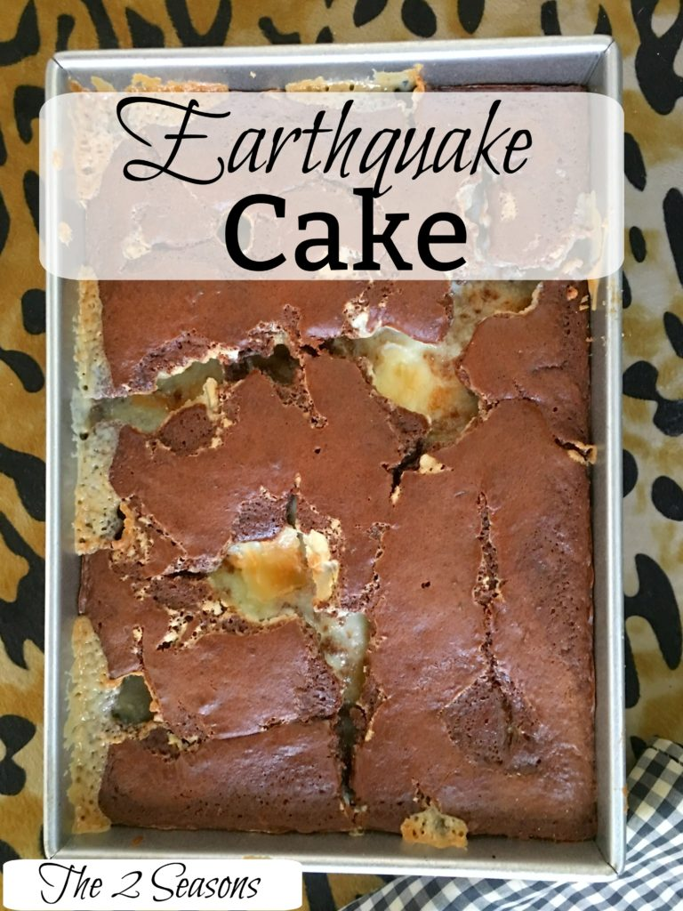 Earthquake cake 1 768x1024 - Cakes Fit for a Queen or Mom