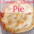 Strawberry Rhubarb Pie - The 2 Seasons