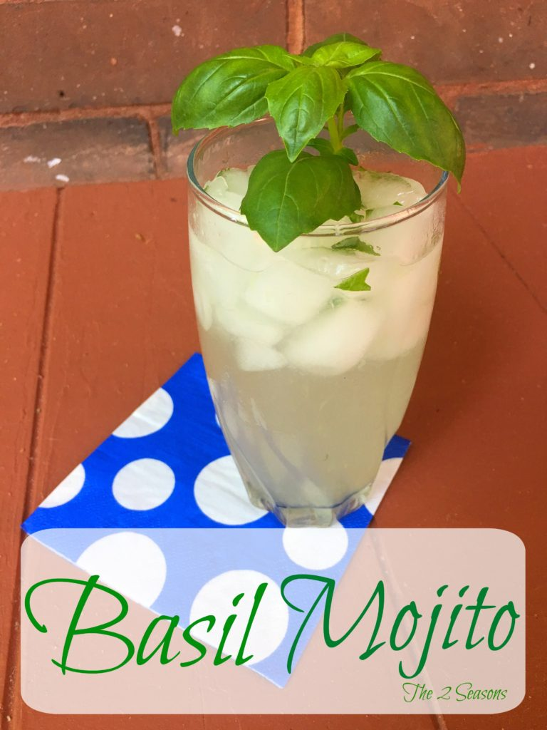 Basil Mojito - The 2 Seasons