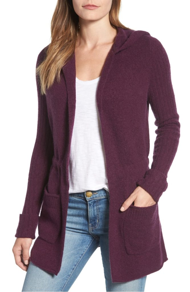 Hooded Cardigan 667x1024 - The Season's Saturday Selections