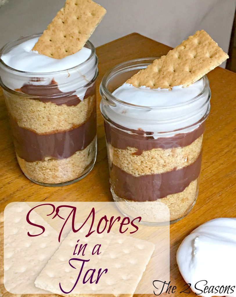 SMores in a Jar 1 813x1024 - S'Mores in a Jar - Revisited