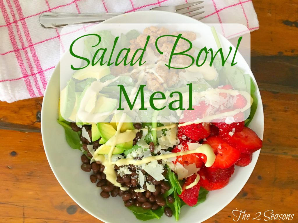 Salad Bowl Meal - The 2 Seasons