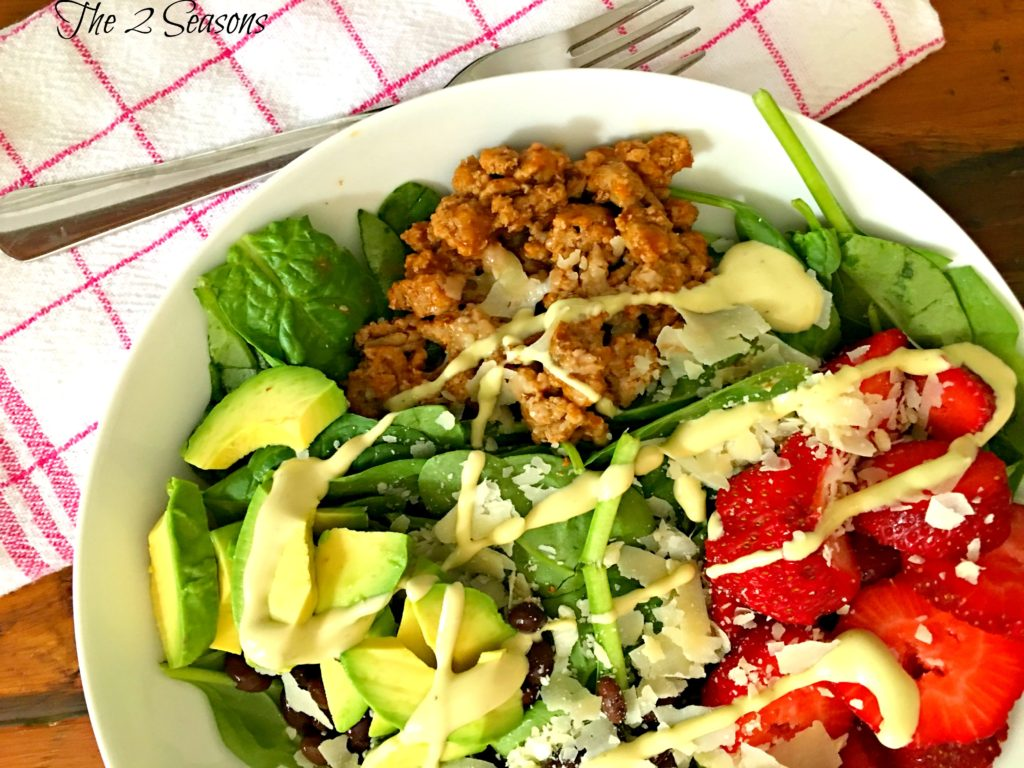 Salad Bowl Meal 2 1024x768 - A Salad Bowl Meal
