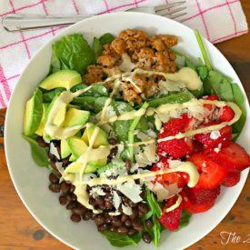 Salad Bowl Meal - The 2 Seasons
