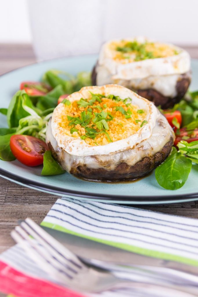 Caramalised Onion and Goats Cheese Stuffed Portobello Mushrooms 2 683x1024 - The Seasons' Saturday Selections