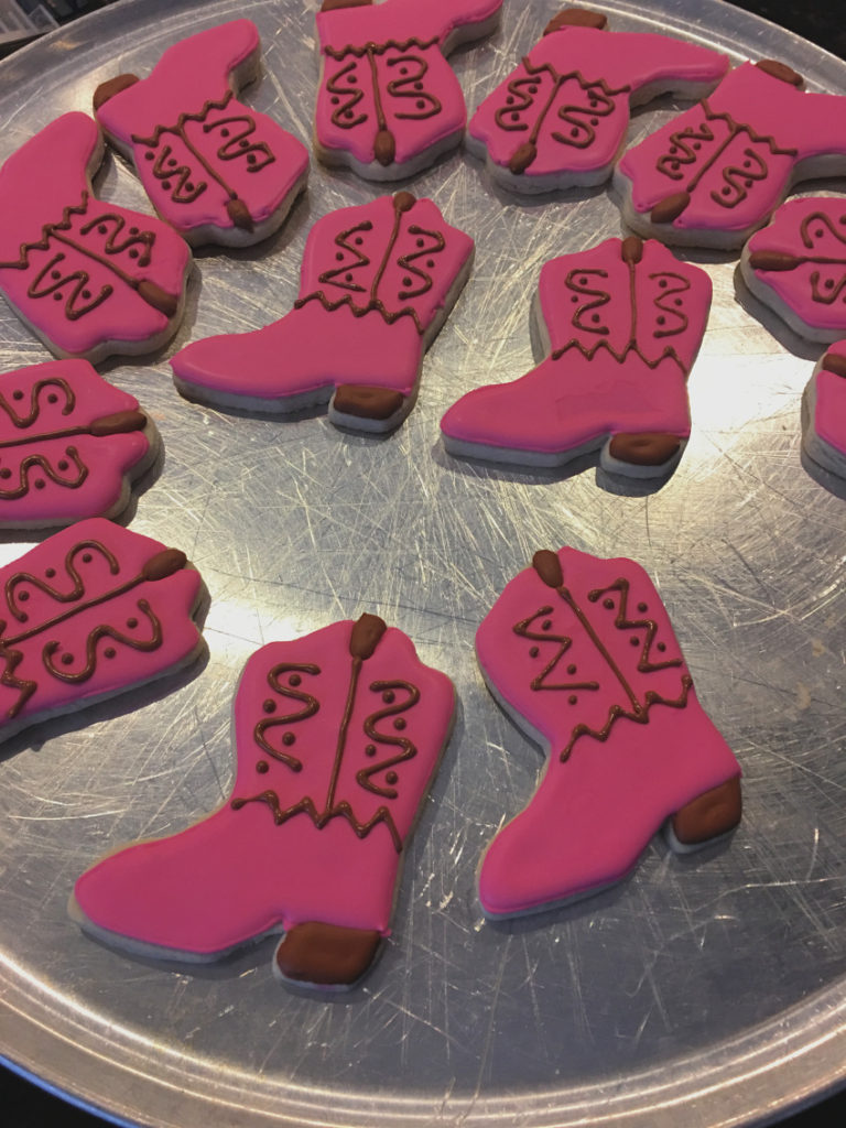 Cookies after 768x1024 - Cowgirl Boot Sugar Cookies
