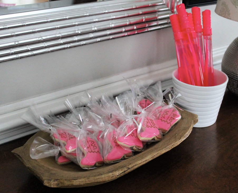 Cowgirl Birthday Party Favors - Little Miss Turns 4
