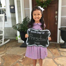 Little Miss Goes to School