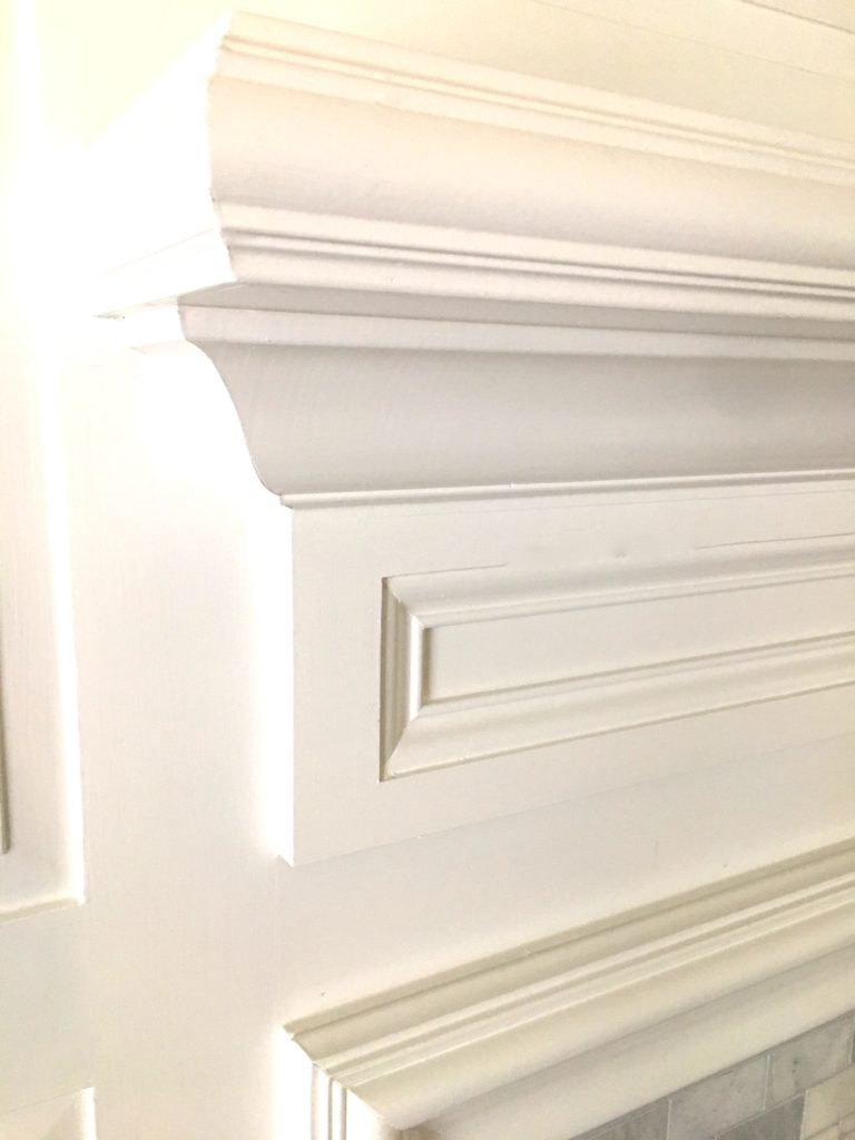 IMG 2259 768x1024 - How to Update a Fireplace - Revisited
