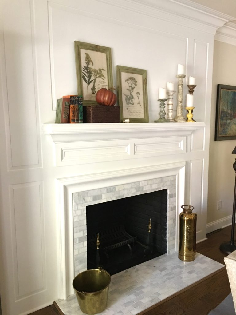 IMG 2669 1 768x1024 - Our Fall Mantel
