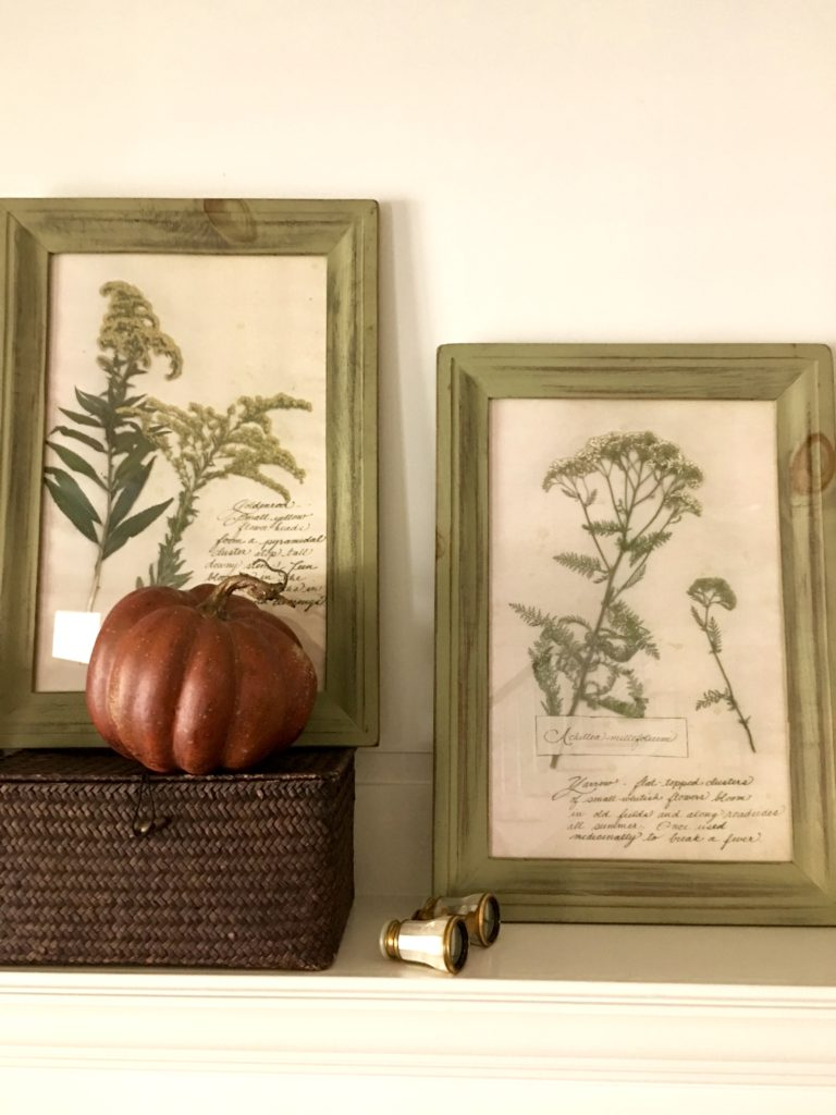 IMG 2671 768x1024 - Our Fall Mantel