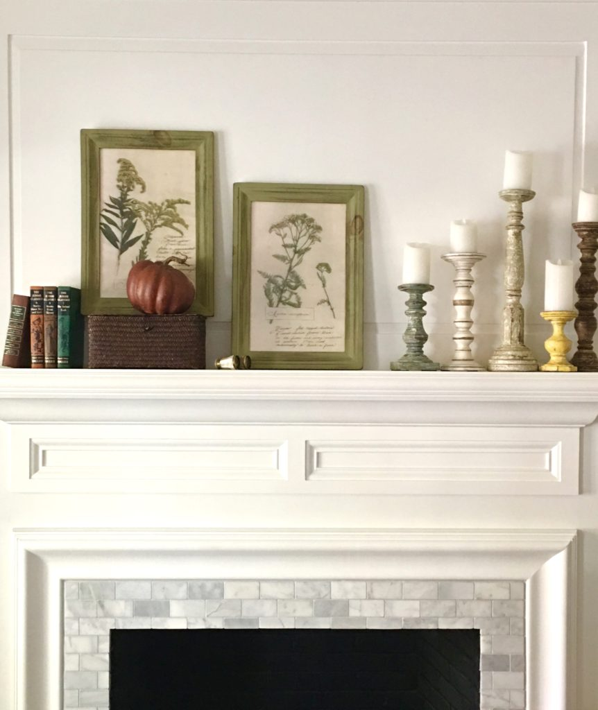 IMG 2677 862x1024 - Our Fall Mantel