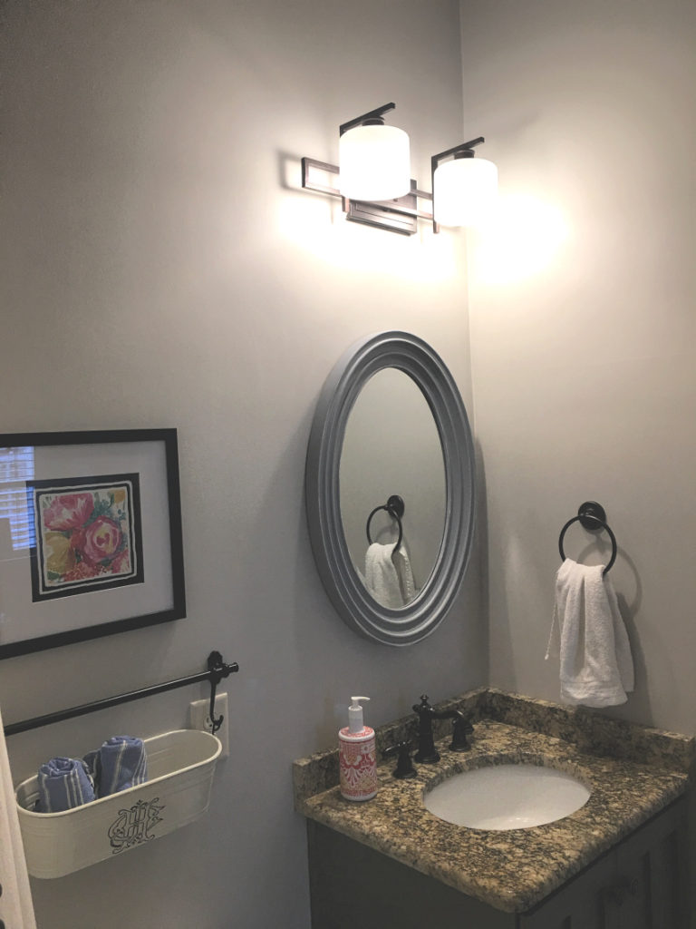 Bath 1 768x1024 - Plans to Update the Powder Room
