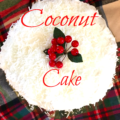Coconut cake - The 2 Seasons
