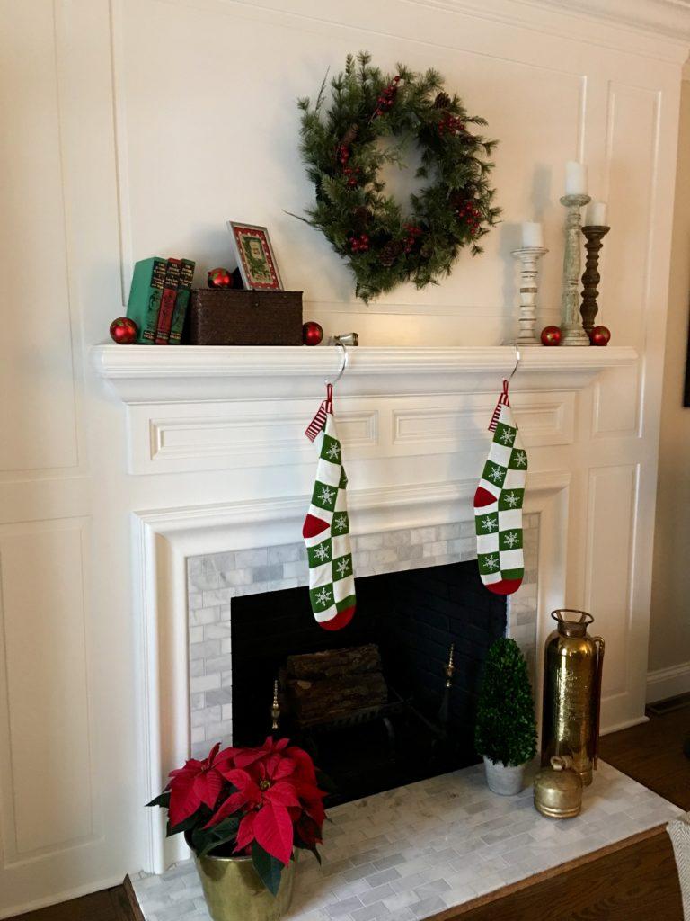 IMG 3110 768x1024 - Janette's Christmas Mantel