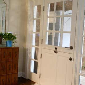 Townhouse mudroom - The 2 Seasons